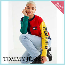 【Tommy Jeans】新作☆ カラーブロック TOMMY スウェット ☆