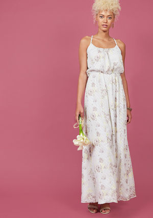 all-around lovely maxi dress in botanical