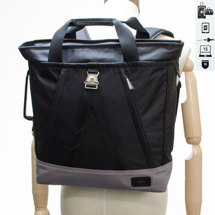 TUMI トートバッグ TUMI 55883 DO  Regent Tote Pack 2WAY トートバッグ black(6)