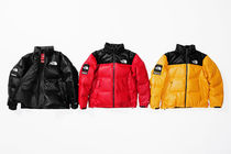 Week9新作!SUPREME17FW★The North Face Leather Nuptse Jacket