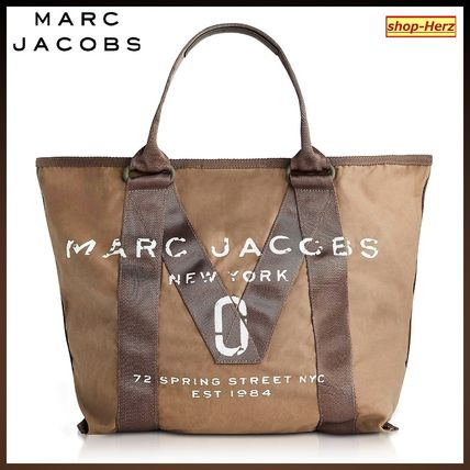 ★MARC JACOBS★ New Logo French Grey トートバッグ 関税込