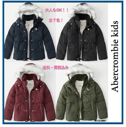 Abercrombie & Fitch キッズアウター 大人もOK!! 全7色 アバクロ新作 ジャケット puffer Jacket