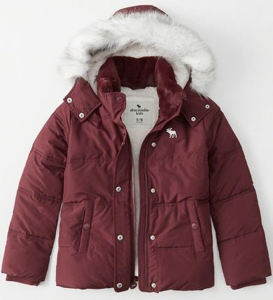 Abercrombie & Fitch キッズアウター 大人もOK!! 全7色 アバクロ新作 ジャケット puffer Jacket(4)