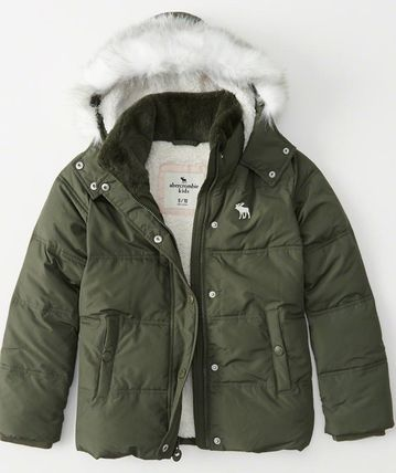 Abercrombie & Fitch キッズアウター 大人もOK!! 全7色 アバクロ新作 ジャケット puffer Jacket(5)