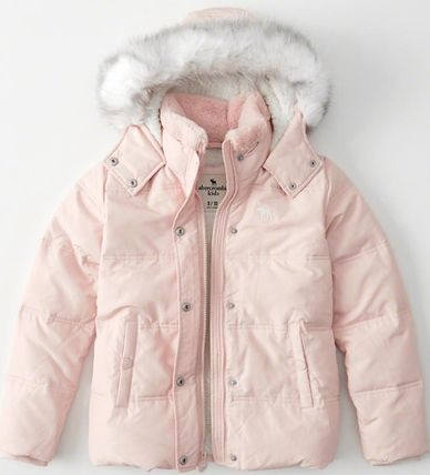 Abercrombie & Fitch キッズアウター 大人もOK!! 全7色 アバクロ新作 ジャケット puffer Jacket(6)