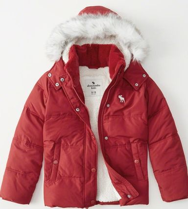 Abercrombie & Fitch キッズアウター 大人もOK!! 全7色 アバクロ新作 ジャケット puffer Jacket(7)