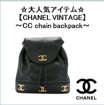 【CHANEL VINTAGE】〜CC chain backpack〜