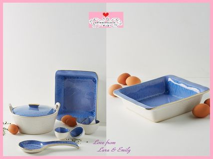 18SS*最安値保証*関送込【Anthro】Reactive Square Baking Dish