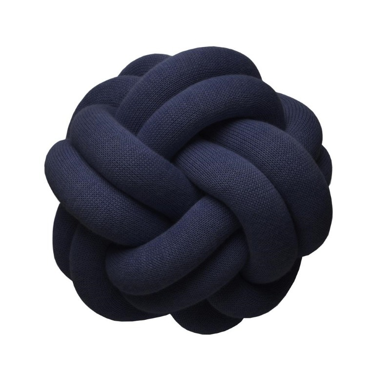 Design House Stockholm Blue KNOTCUSHION【送料・関税込】30cm