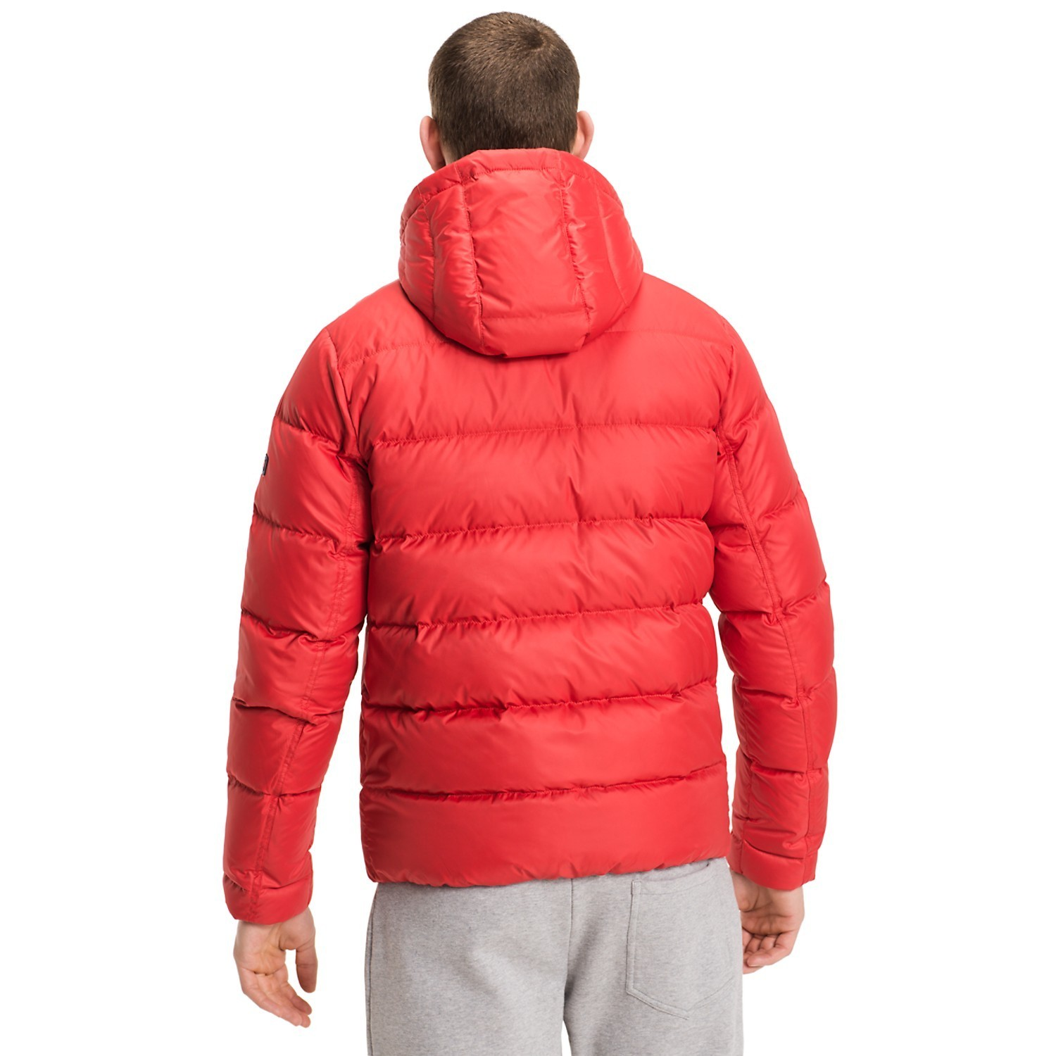 【Tommy Hilfiger 】QUILTED DOWN JACKET 袖ロゴ