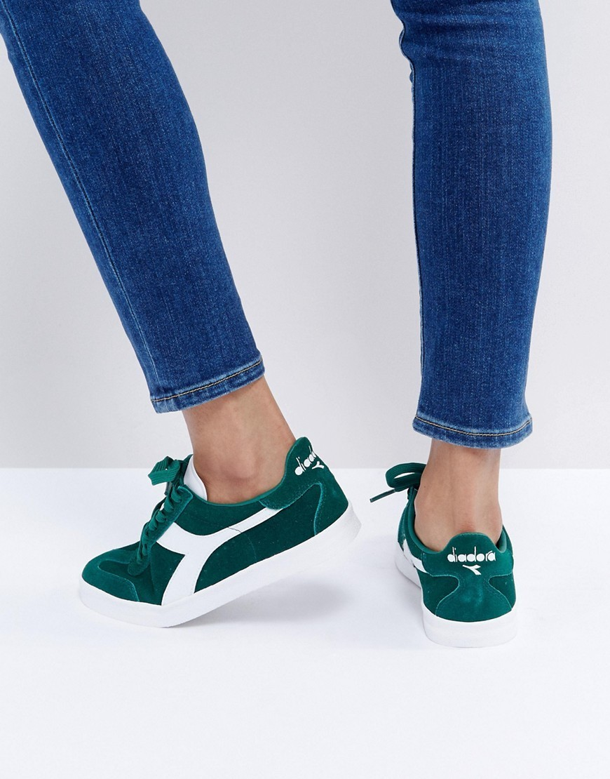 Diadora B.Original Trainers In Green