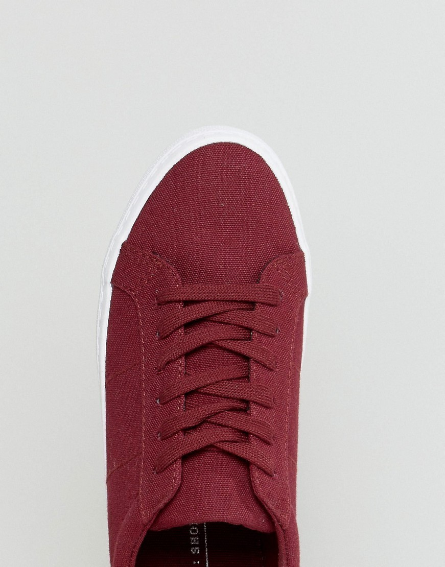 ASOS DEVLIN Lace Up Trainers