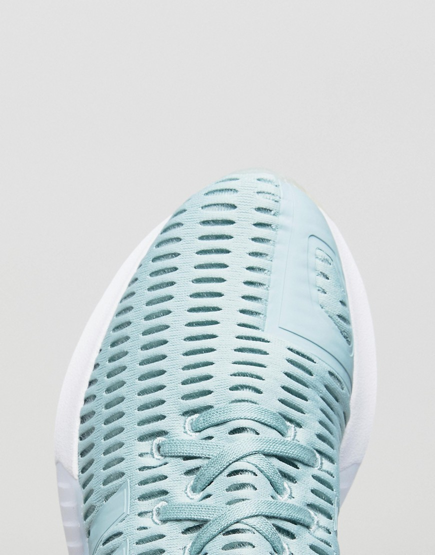 adidas Originals Climacool Trainers In Pale Green