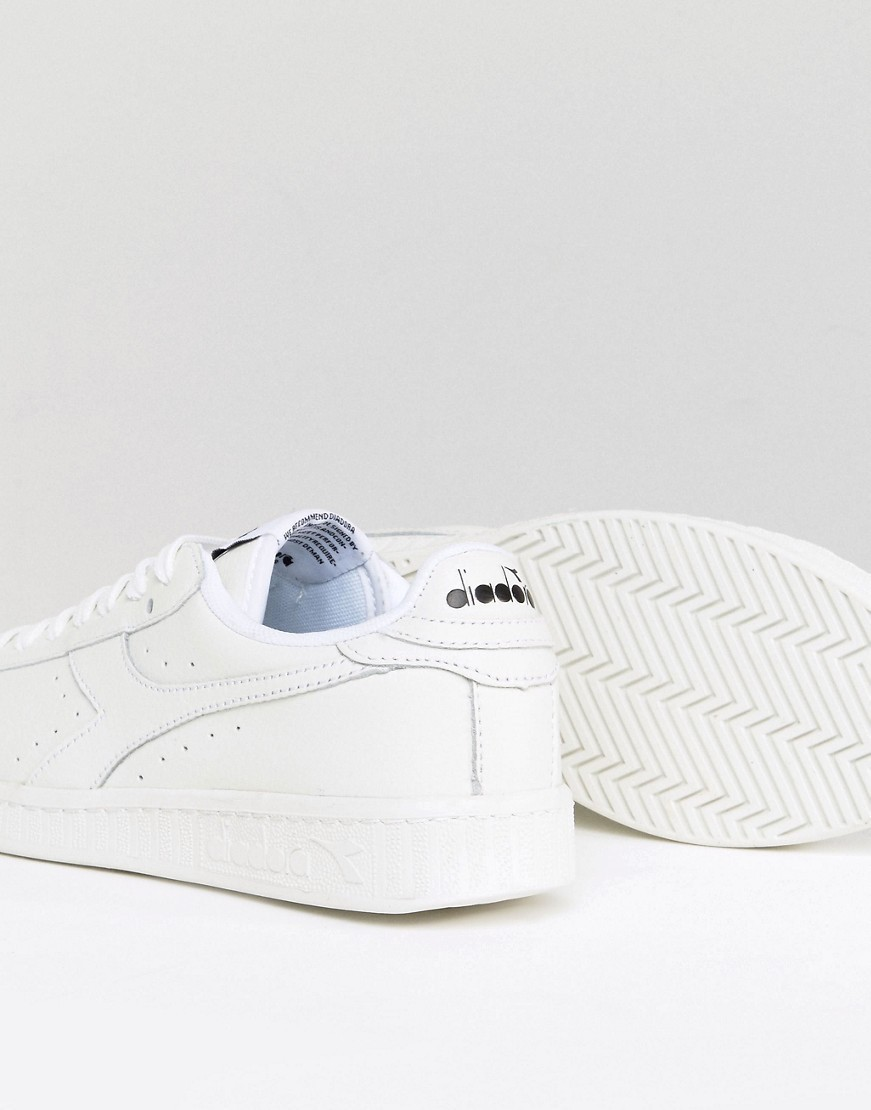 Diadora Game Low Trainers In White