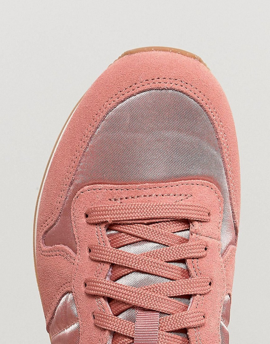 Nike Internationlist Suede Trainers In Dusky Rose With Gum