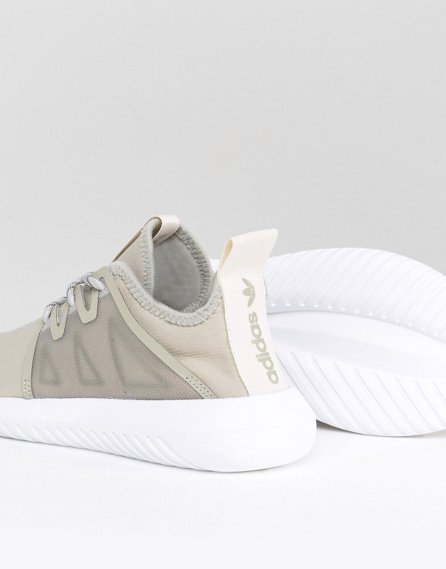 adidas Originals Tubular Viral Trainers In Taupe