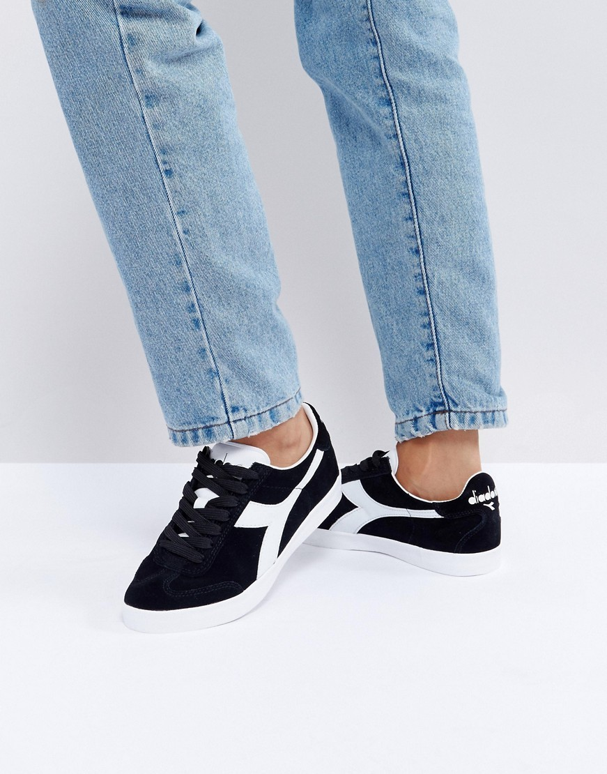Diadora B.Original Trainers In Black