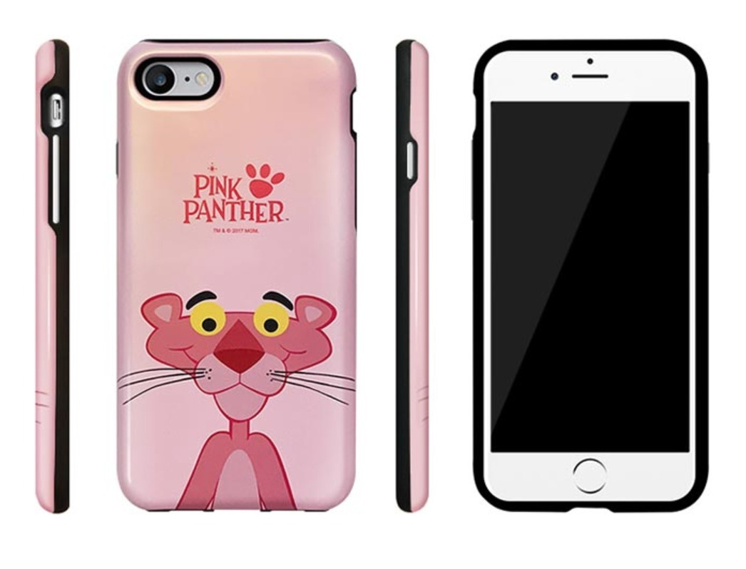 {iPhone}ピンクパンサーアーマーケース[正品].