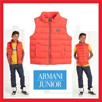 大人OK!! Armani Junior★Orange Down Padded ベスト★4-16Y