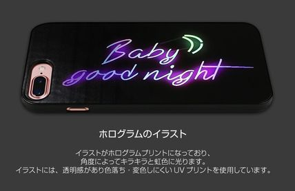 スマホケース・テックアクセサリー iPhone 8 Plus/7 Plus Dparks Twinkle Case BabyGoodnight(4)