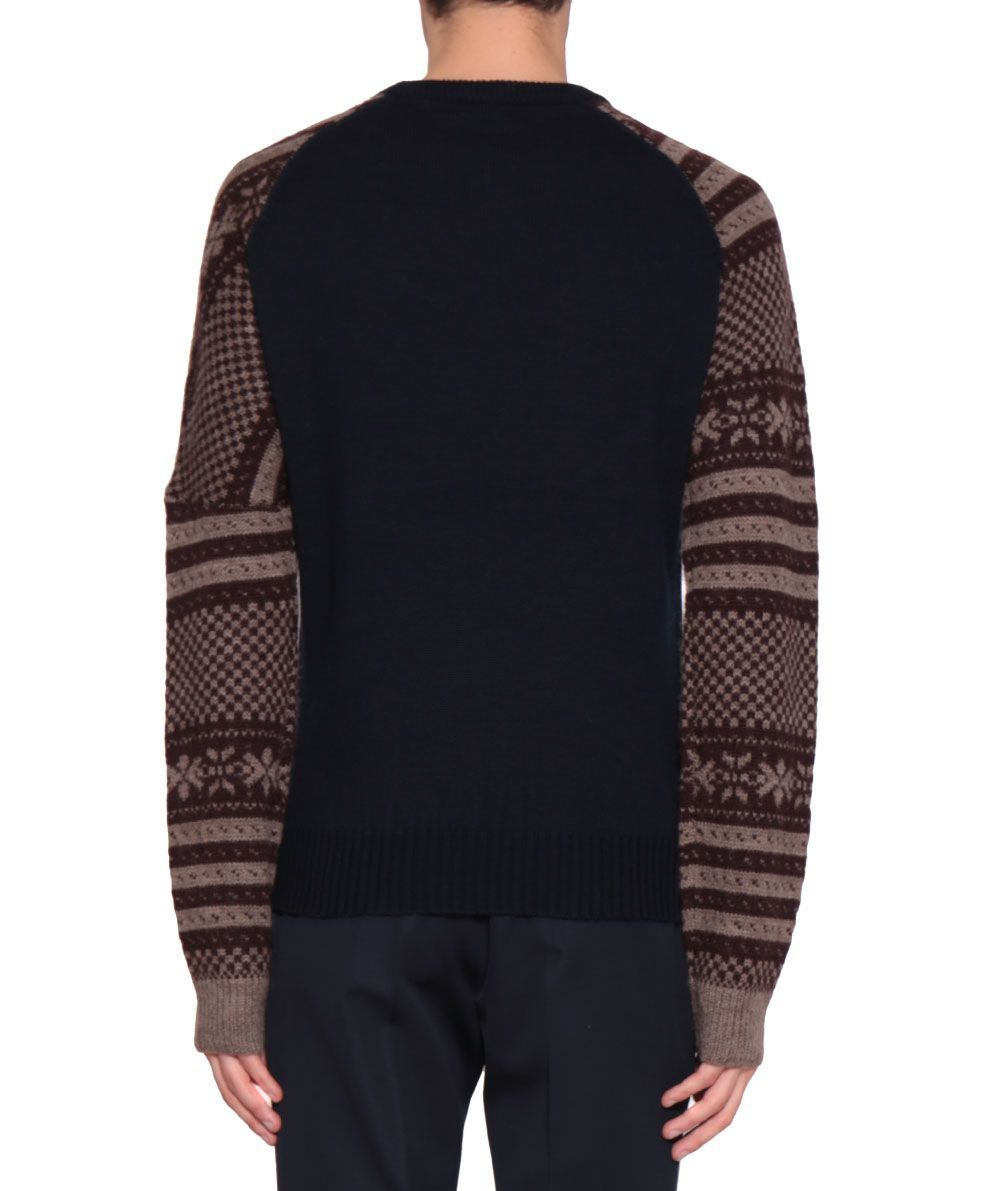 Tacos Jacquard Wool Sweater ウールセーター