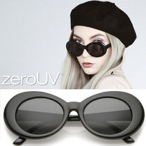 全5色*zeroUV*RETRO 1990'S FASHION OVAL CLOUT GOGGLE SUNGLAS