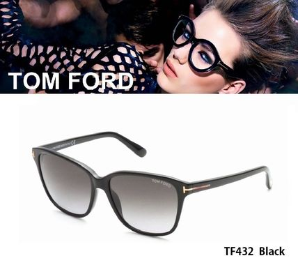 TOM FORD(トムフォード) TF432 01B SHINY BLACK/GREY GRADIENT