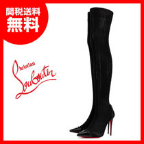 【CHRISTIAN LOUBOUTIN】Souricette サイハイ ソックブーツ