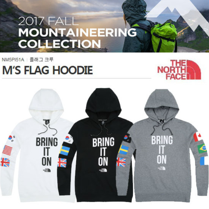 THE NORTH FACE ☆M 'S FLAG HOODIE 3色☆NM5PI51