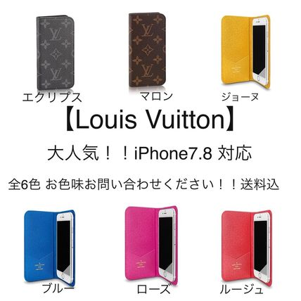 Louis Vuitton ルイヴィトン iPhone アイフォン7.8対応 全6色