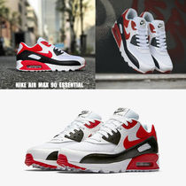 NIKE★AIR MAX 90 ESSENTIAL★25.5~29cm★白×レッド×黒