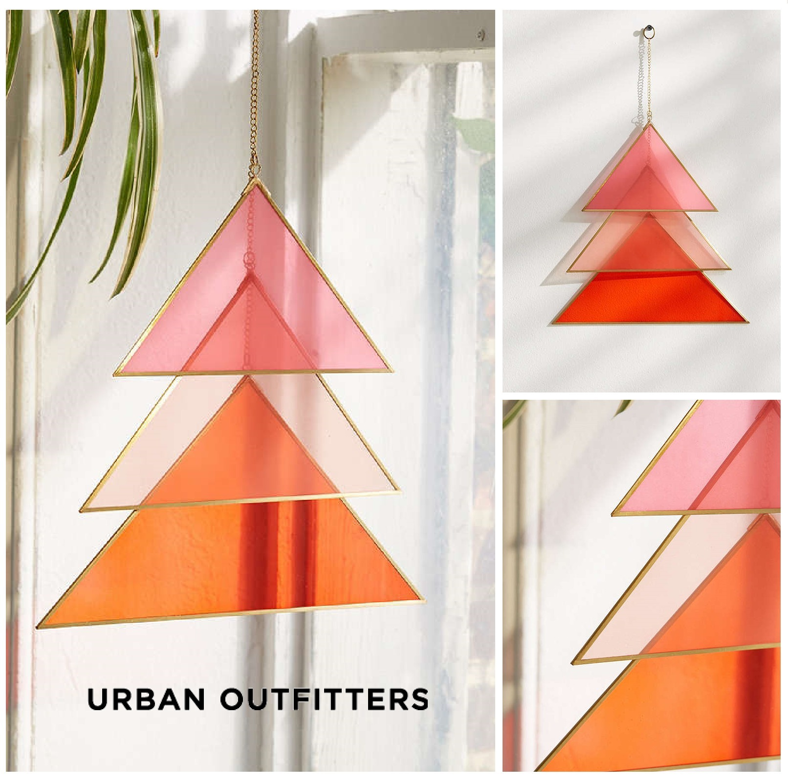 Urban Outfitters☆Triangle Glass Wall Hanging