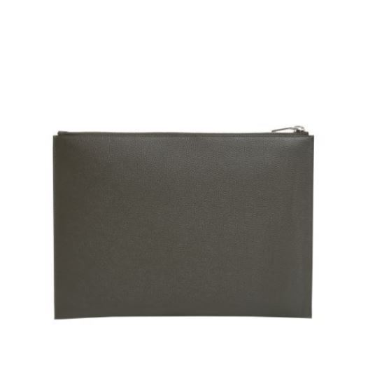 【Saint Laurent】RIDER I-PAD CASE IN TEXTURED LETHER
