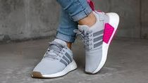 NEW【adidas originals】NMD_R2 PRIMEKNIT   GRAY兼用・追跡付