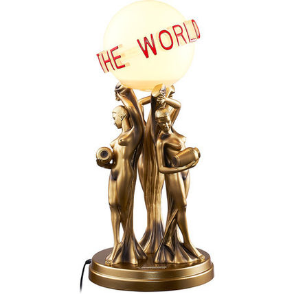 17AW Supreme Scarface The World Is Yours Lamp