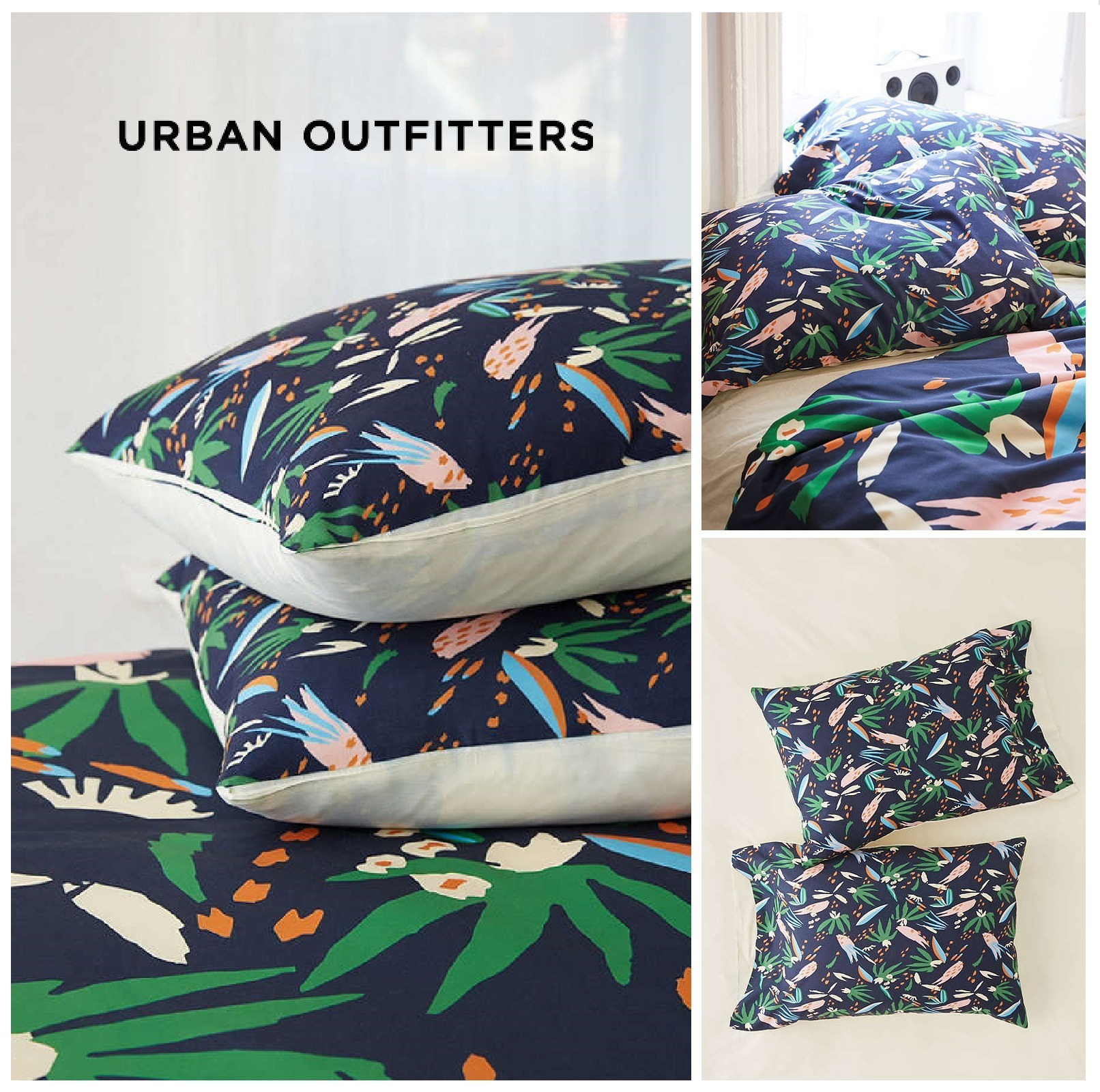 Urban Outfitters☆ Deny Adobo Jungle Pillowcase Set