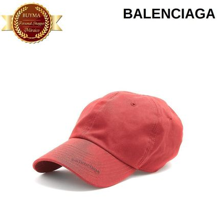 BALENCIAG バレンシアガ Logo-embroidered cap