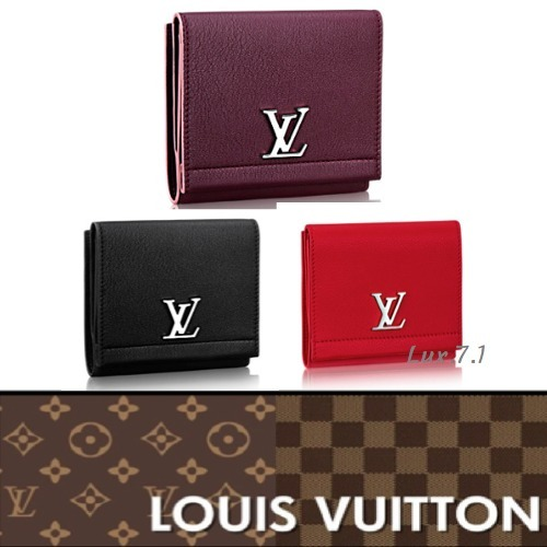 【Louis Vuitton】ソフトな牛革使用☆コンパクトウォレット 3色