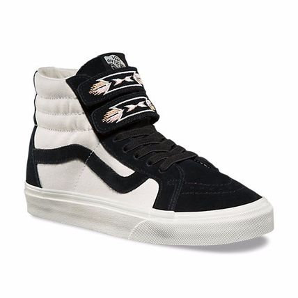 追尾/関税/送料込み Vans NATIVE EMBROIDERY SK8-HI REISSUE V