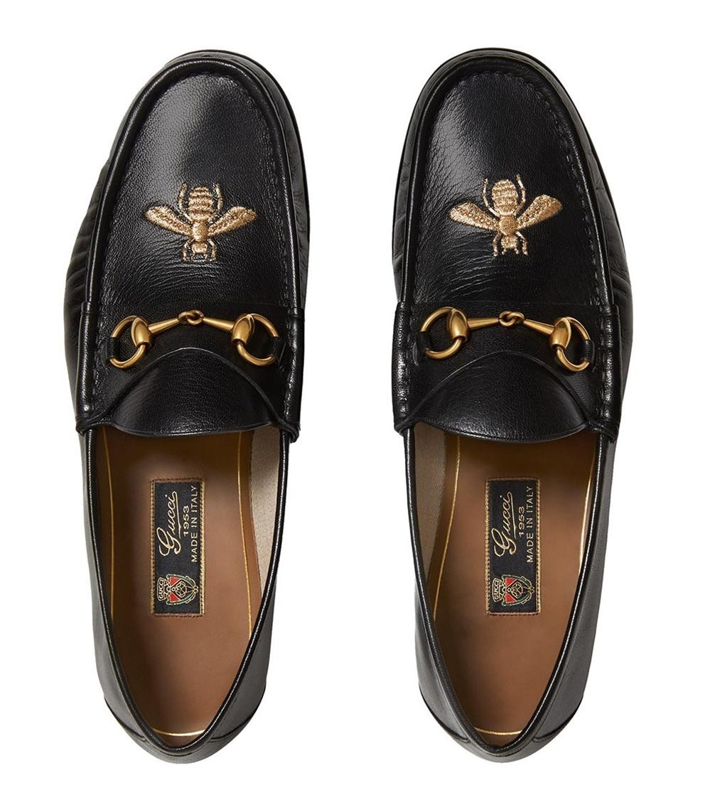 【関税負担】 GUCCI BEE LOAFER