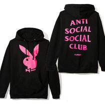 ANTI SOCIAL SOCIAL CLUB PLAY BOY コラボ HOODIE パーカー