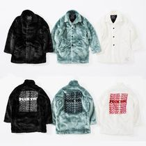 Supreme HYSTERIC GLAMOUR Fuck You Faux Fur Coat 17FW コート