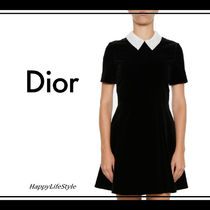 lovely♪◇Lace Collar ショート ドレス◇Christian Dior