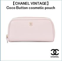 【CHANEL VINTAGE】〜Coco Button cosmetic pouch〜
