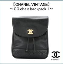 【CHANEL VINTAGE】〜CC chain backpack 1〜