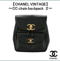 【CHANEL VINTAGE】〜CC chain backpack 2〜