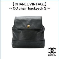 【CHANEL VINTAGE】〜CC chain backpack 3〜