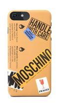希少!Moschino/ warning logo iPhone 6/ 6s /7 ケース