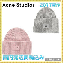 セレブ愛用者多数☆Acne Studios☆Pansy W Face Ribbed Hat