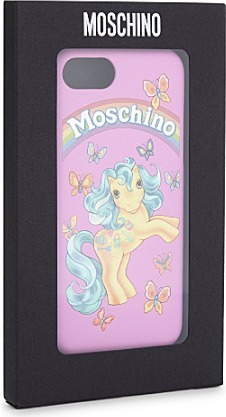 【MOSCHINO】My Little Pony iPhone 6/6s/7 ケース